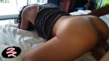 Threesome with 2 Latina milfs before sending them back to their husbands