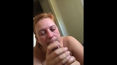 Someone's mom Throating my BBC