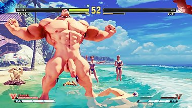 LET'S PLAY - Street Fighter V, Abigail vs Juri