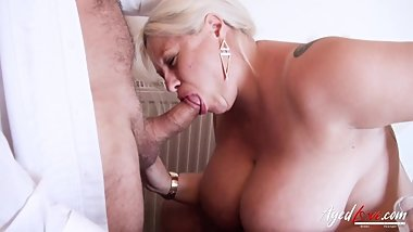 AgedLovE Busty Mature Providing Nasty Blowjob