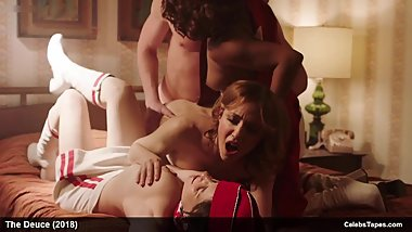 Anjelica Bosboom, Emily Meade, Erika Smith & Maggie Gyllenhaal nude sex