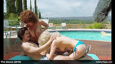 Cody Cameron, Emily Meade, Katrina Cunningham nude sex video in Deuce
