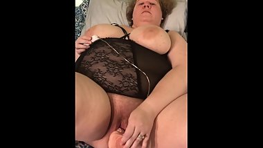 BBW Fucking Herself To Multiple Orgasms