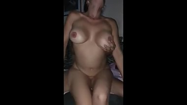 Husband films his busty wife cheating with her ex