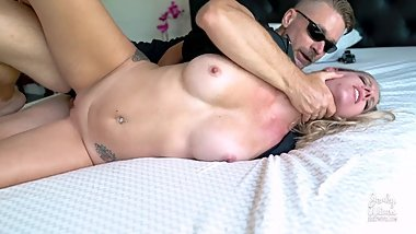 Aaliyah Taylor in Busty MILF Cop fucked Over and Over