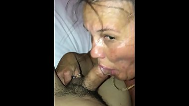 Thirsty Gilf customer sucks and fucks local barista part 1