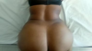 Ebony milf Pov doggystyle