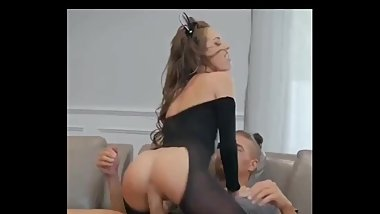 Teen Crazy riding