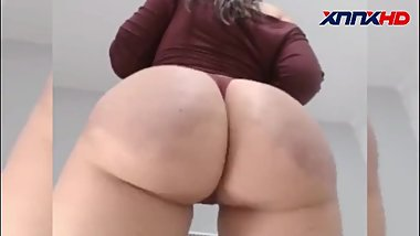 Big White Booty Ass Clapping & Twerking Compilation #0010