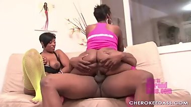 amazing two black bbw