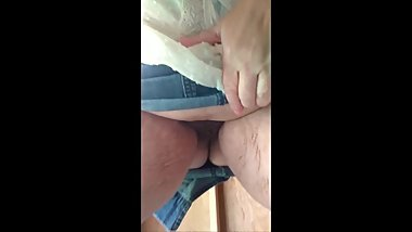 Upskirt Piss in Old Shed Outdoors BBW Mature MILF