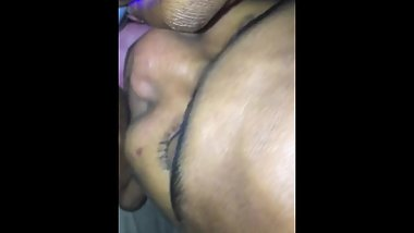 Eating Pussy While She Plays With Toy Until She Cum In My Mouth