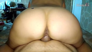 I fuck milf in a hotel, then I make a full cunt of sperm. Part 1/2