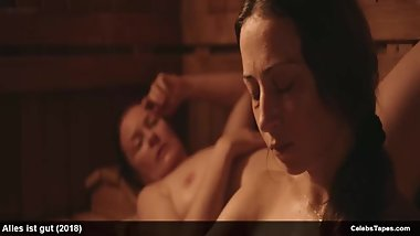 Aenne Schwarz & Lina Wendel naked and rough sex actions