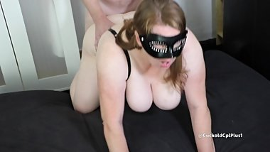 Slut Wife Has Anonymous Tag Team Sex with Two Strangers
