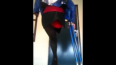 Blue Crutches