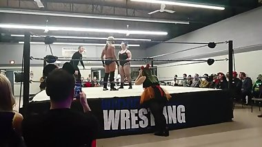 CANADIAN MIXED WRESTLING