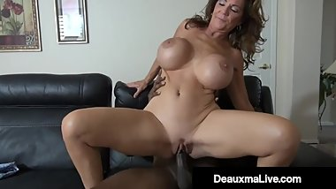 Busty Texas Mommy Deauxma Fucks Big Black Cock To Erase Debt