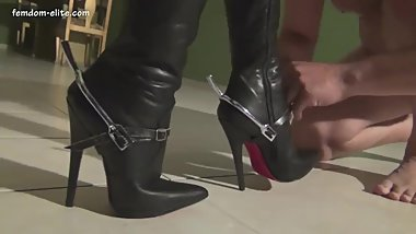 LatinBeautiesInHighHeels - Diosa - Punishment for a Lazy_Pony