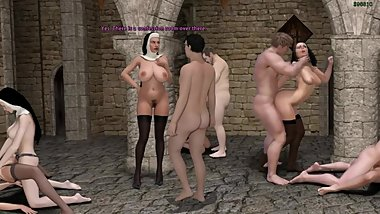 Adventures of Willy D #19 Nuns and Sinners