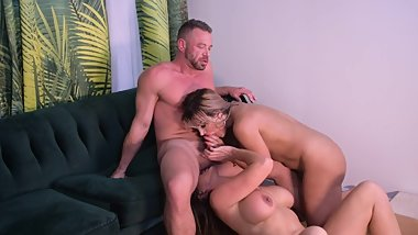 Brad Aubrey & Mercedes Raw threesome pt. 3