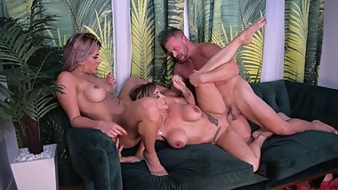 Brad Aubrey & Mercedes Raw threesome pt. 2