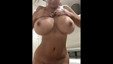 MILF Showing Off Tits