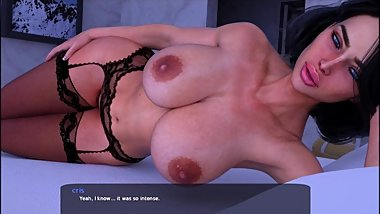 Milfy city Xtreme story Linda in your room 2 (stockings edition)
