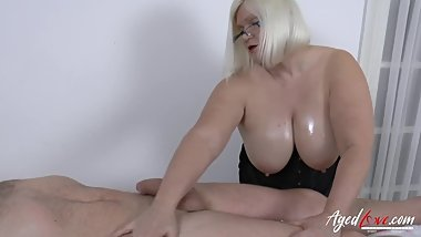 AgedLovE Massage Goes Wild Very Quickly