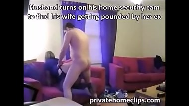 Cheating wife security cam 1