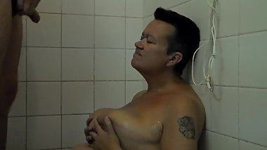 John is Pissing on Jen in the Shower