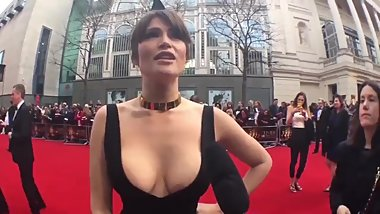 Amazing cleavage by Gemma Arterton
