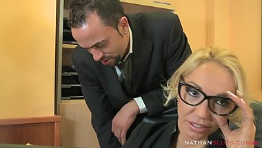 Ass Repair Workshop Ep.1 - Milf Ginger Hell gets sodomized in workshop