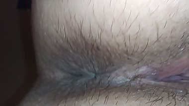 Closeup of Cum filled squirting cunt taking multiple loads