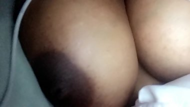 Ebony pretty breast