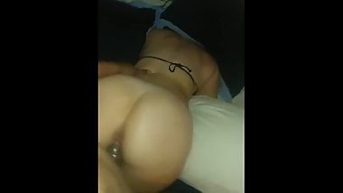Big White Booty Can't Keep Quiet From BBC