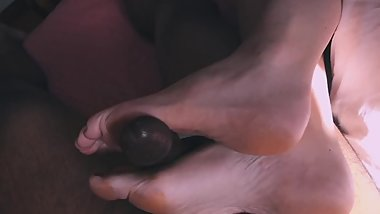 Handjob Footjob Combo Destroys Him Teaser