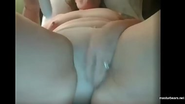 Dildo disappears in pussy Bbw mom Molly