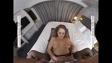 Naughty America presents Emily Addison VR - Beautiful face and juicy ass