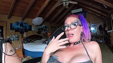 Chassidy Lynn - Smoking JOI POV Session with a Huge Creampie