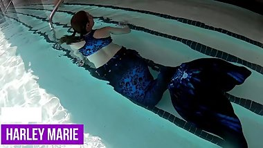 Mermaid Swims at the SLS South Beach Miami FL