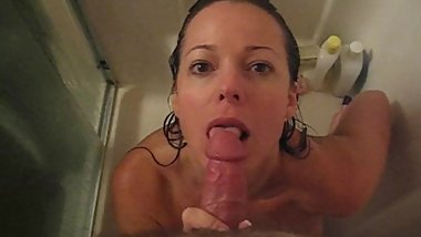 Debbie Blow in the shower 3