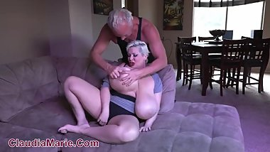 Claudia Marie Huge Silicone Implants Destroyed