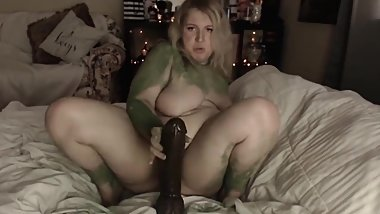 She Hulk Drains Your Huge Black Cock