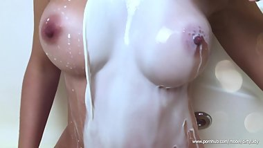 Milk and MILF Tits - My beautiful music slow motion show 4К Ultra HD