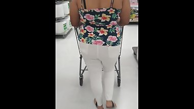 Walking my ass through walmart
