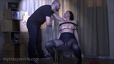 Stirling Cooper gets a Bound Blowjob from Sovereign Syre