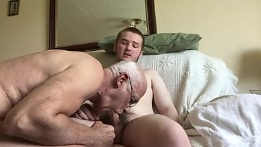 He just loves my cock,