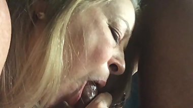 granny sucked bbc in home
